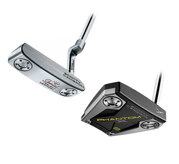 SCOTTY CAMERON PUTTERS