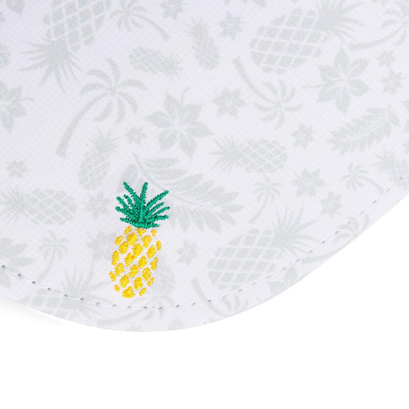パイナップル刺繍