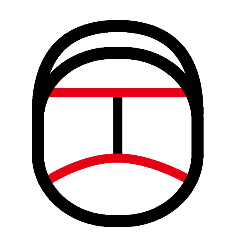 セパレータ形状