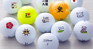 Golf Ball Name Print Event