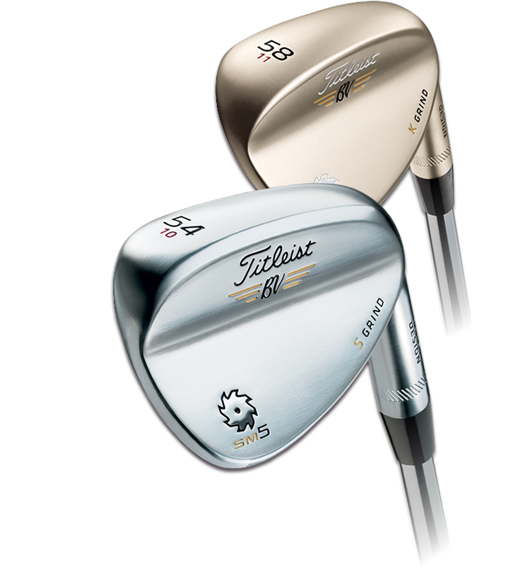 VOKEY DESIGN® SPIN MILLED 5 WEDGES