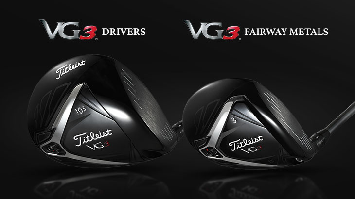NEW タイトリスト「VG3ドライバー」「VG3フェアウェイメタル」 12/22発売