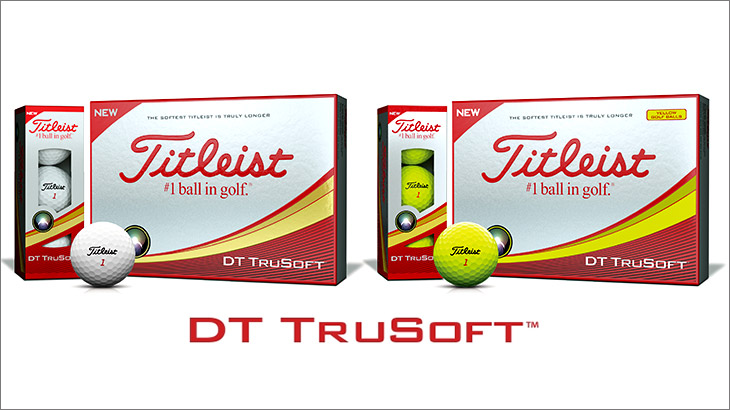 NEW「タイトリスト DT TruSoft」を発売