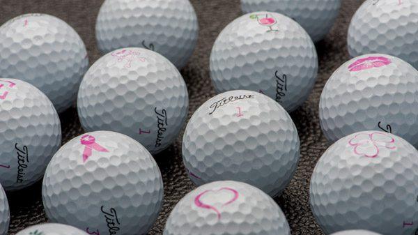 ゴルフボールピンクナンバー