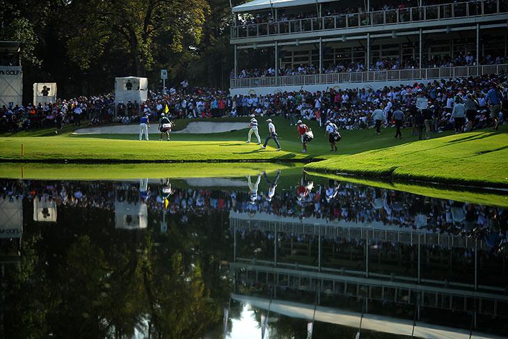 クラブ・デ・ゴルフ・チャプルテペクで行われたWGC メキシコ選手権